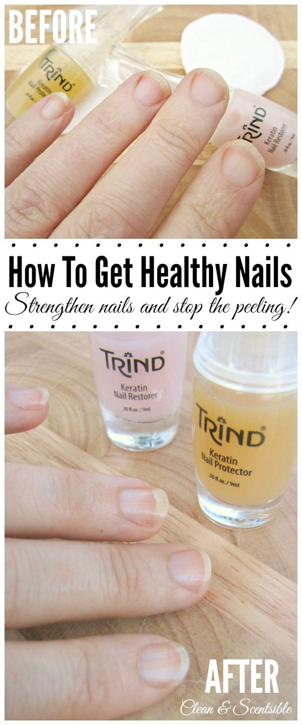 Tips for getting healthy, natural nails.