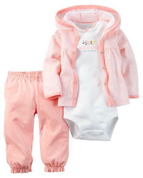 3-Piece Babysoft Cardigan Set