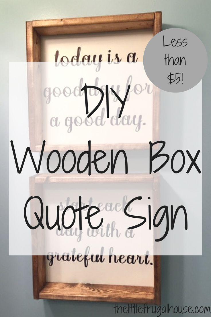 Best wooden box crafts ideas on pinterest