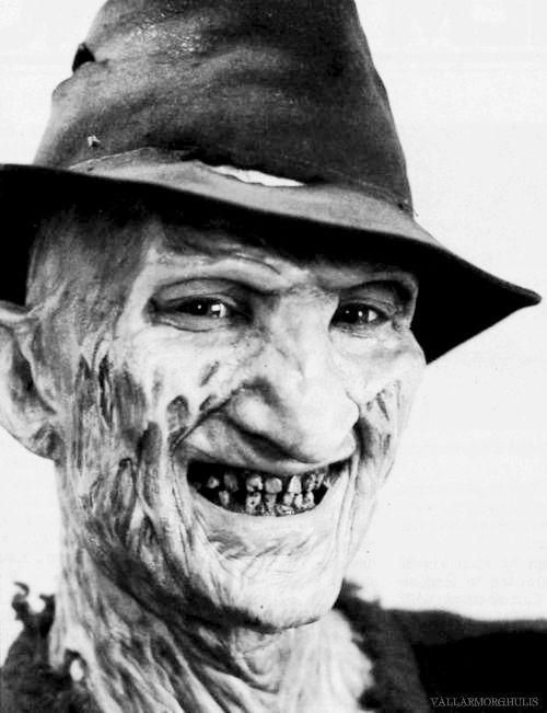 "Frederick Charles ""Freddy"" Krueger - 'A Nightmare on Elm Street'."