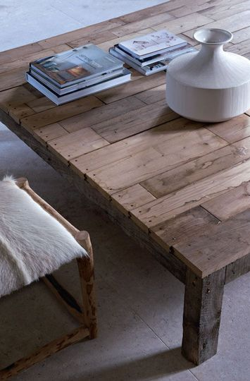 Table palletwood