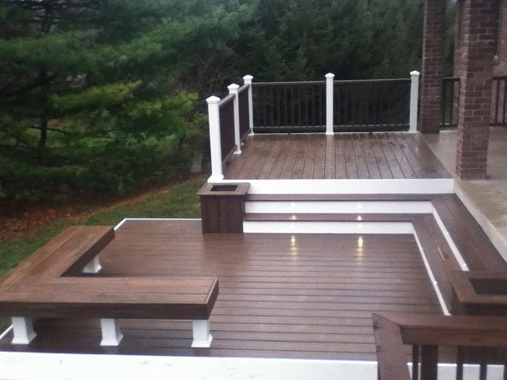 Best 25 composite decking ideas on pinterest trex for Fiberon decking cost per square foot
