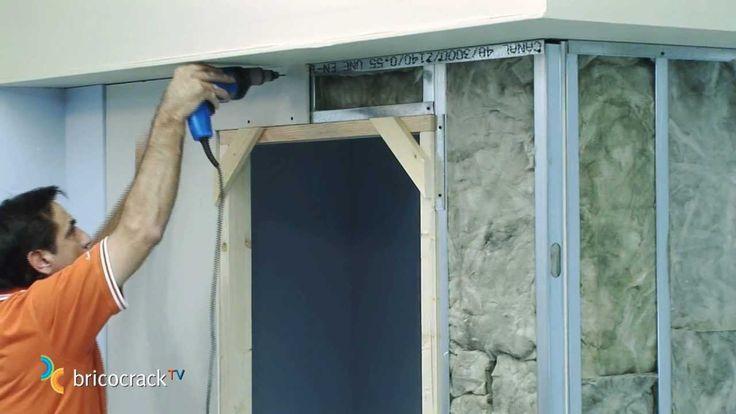 Construir tabiques de yeso laminado pladur 2 aislante y - Como tirar un tabique ...