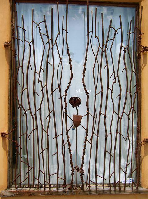 Look: Vines Nu0027 Roses Window Bars