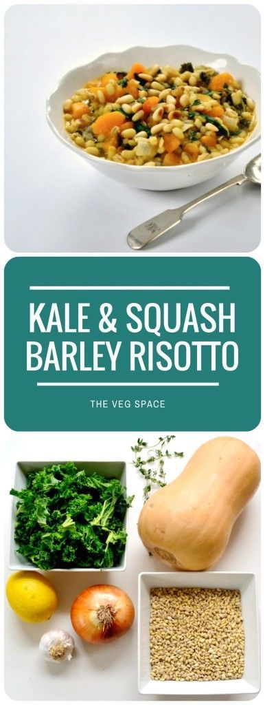 This Kale & Squash Pearl Barley Risotto is proper winter-warmer comfort food…. notrefined restaurant-food by any stretch, but simple and hearty home-cooked grub that will fill you up and warm you through on a chillyevening. Be warned that pearl barley doubles in size during cooking, so what looks like a measly saucepan of ingredients becomesRead more