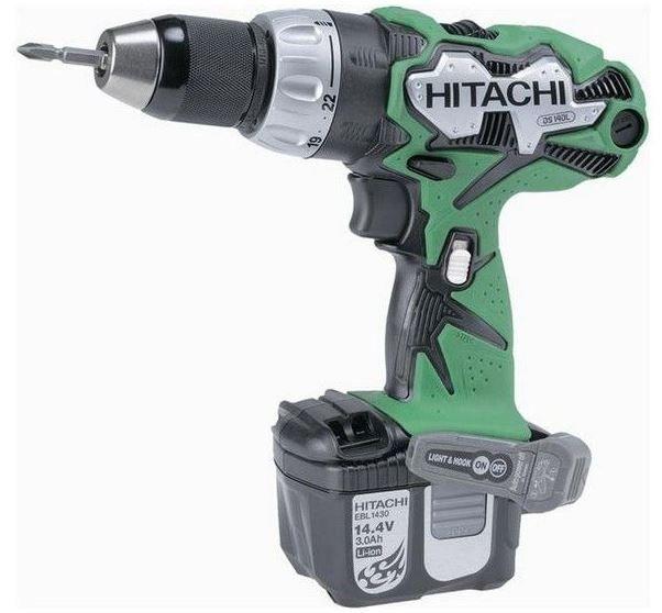 Avis #Hitachi : #Perceuse visseuse sans fil #DS14DL 14,4V