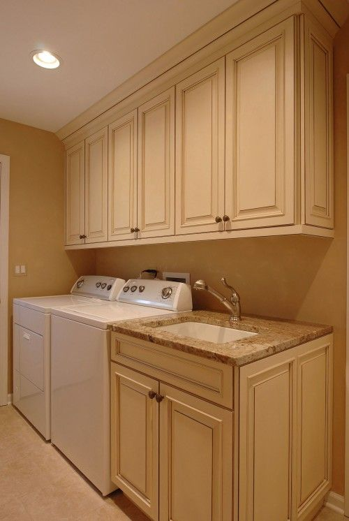 Laundry room house pinterest laundry laundry rooms for Cupboards for laundry room