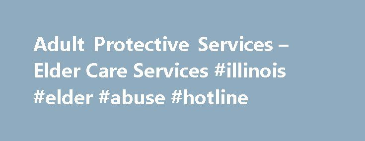 adult protective services vermont elder abuse