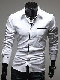 camisas blancas para hombre - Buscar con Google