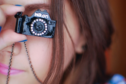 Baby Nikon Necklace