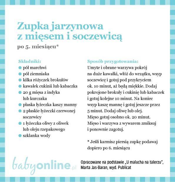 Przepisy dla niemowlaka - Zupki dla niemowlaka   Strona 7   Baby online