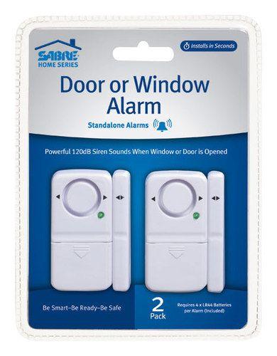 Sabre - Door/Window Alarms (2-Pack) - White