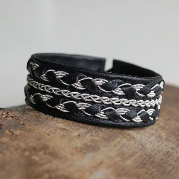 Check out this item in my Etsy shop https://www.etsy.com/se-en/listing/258739575/sale-swedish-sami-bracelet-of-pewter