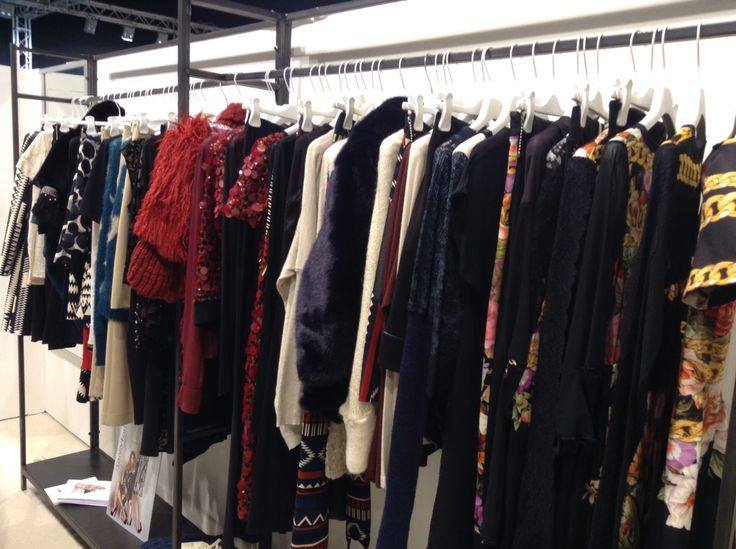 Our stand at Mipap International Fashion Trade Show Milan Fashion Week Womenswear Fall Winter Collection