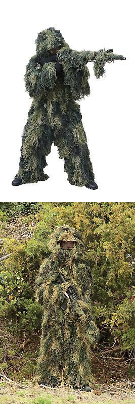 Ghillie Suits 177870: Red Rock Outdoor Gear Ghillie Suit Woodland Camouflage Medium L... Free Shipping -> BUY IT NOW ONLY: $65.72 on eBay!
