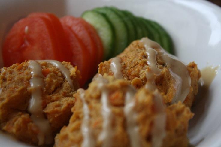 baked sweet potato falafel | recipes | Pinterest | Falafels, Baked ...