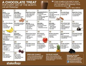 There are healthy Shakeology Recipes to increase the number of calories.