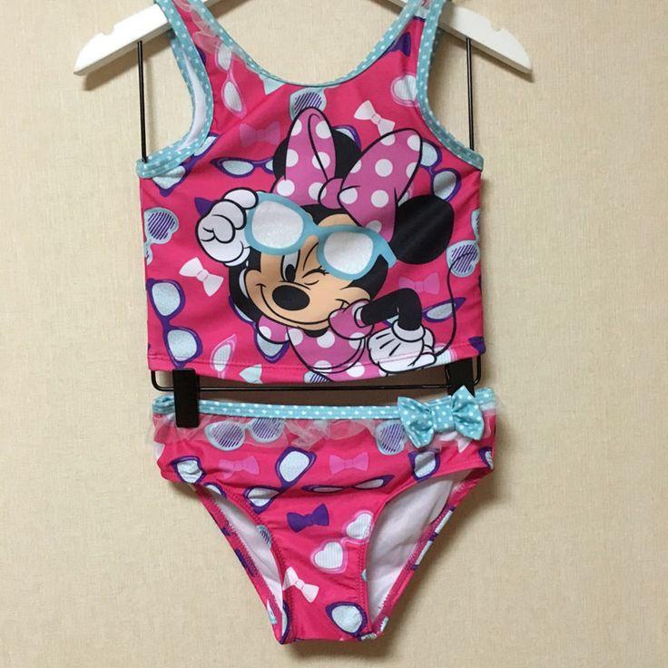 2017 girls swimsuit cartoon kids swimwear children bikinis baby set new biquini infantil kid meisjes bikini girl bathing suit