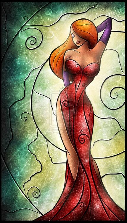 Jessica Rabbit, I'm not bad I'm just drawn that way!!! Tattoo idea Obin
