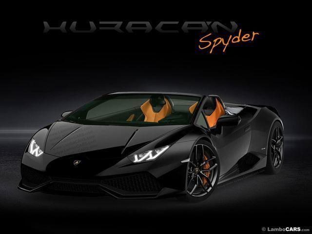 Lamborghini Huracan Spyder Leaks Erken