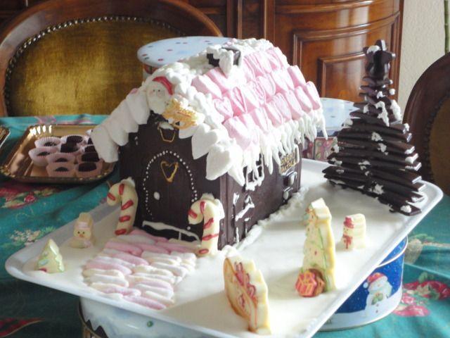 Casetta di cioccolato Natale 2012
