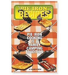 64-Page Fireside Pie Iron Cooking Recipes Book by Richard O'Russa