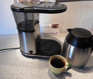 Testing Bonavita 8 cup coffee machine. Very impresive. Read more...  http://interoasting.dk/bonavita-bryg-god-kaffe