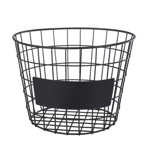 Round Blackboard Basket