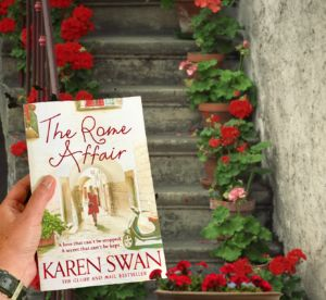 "Novel set in ROME (it started with a letter) ""The Rome Affair"" by Karen Swan http://www.tripfiction.com/romance-novel-set-in-rome-2/"