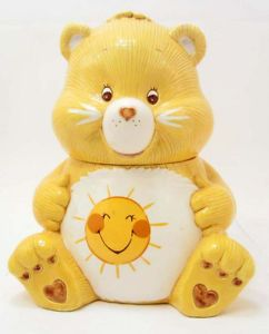 Funshine Care Bear Cookie Jar. Just the cookie jar I've been looking for!