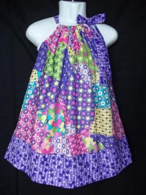 pillowcase dress by Flissy Twinnys Mum Murphy