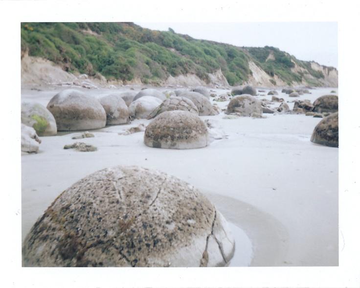 Moeraki Boulders: New Zealand