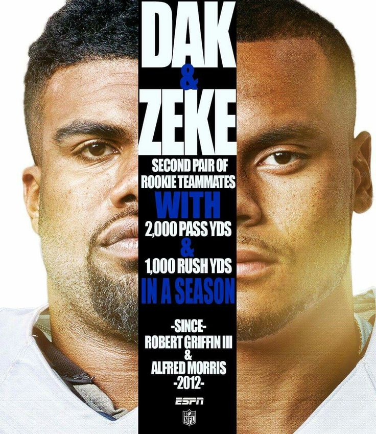 Way to go Dak & Zeke!