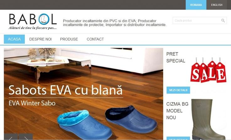 Babol Exim societate comerciala producatoare si distribuitoare de incaltaminte din PVC http://www.profit360.ro/babol