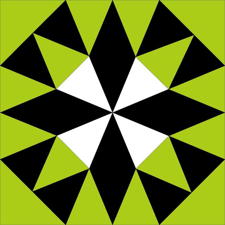 grandma's delight block kaleidoscope quilts » First Light Designs