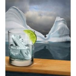 Unique Ice Cubes from Novelty Ice Cube Trays - Submarine