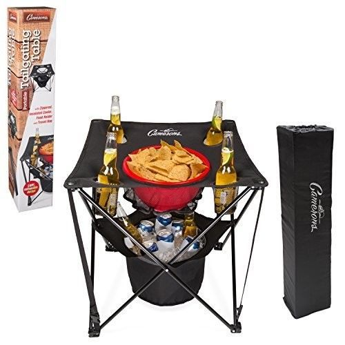 Folding Camping Table Picnic Cooler Beach, Travel Outdoor Fishing lightweight #Camerons