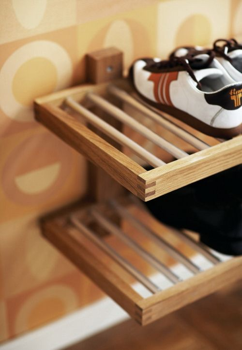 wall mounted shoe rack - Google Search