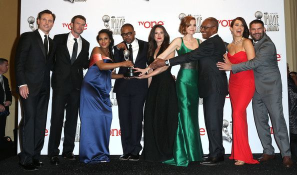 SCANDAL CAST NAACP IMAGE AWARDS 2014