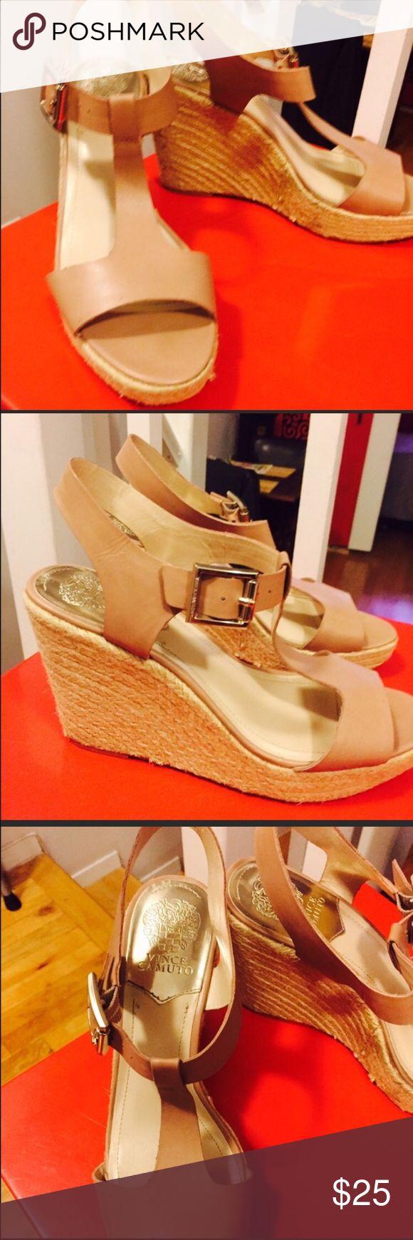 Nude Espadrille Sandel Vince Camuto beige or nude sandal Vince Camuto Shoes Espadrilles