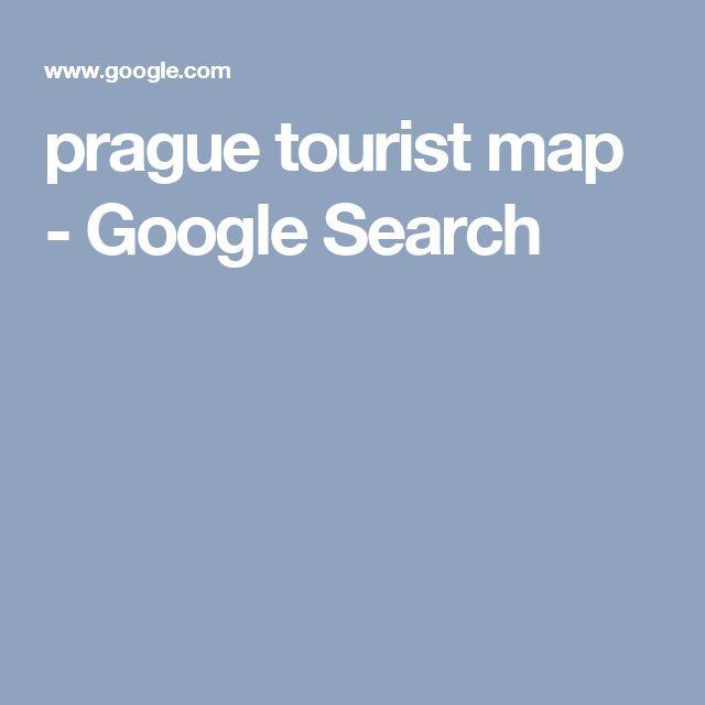 prague tourist map - Google Search