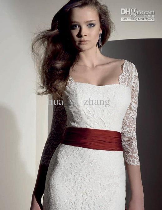 Wedding Dresses With Red Sash at Exclusive Wedding Decoration and ...