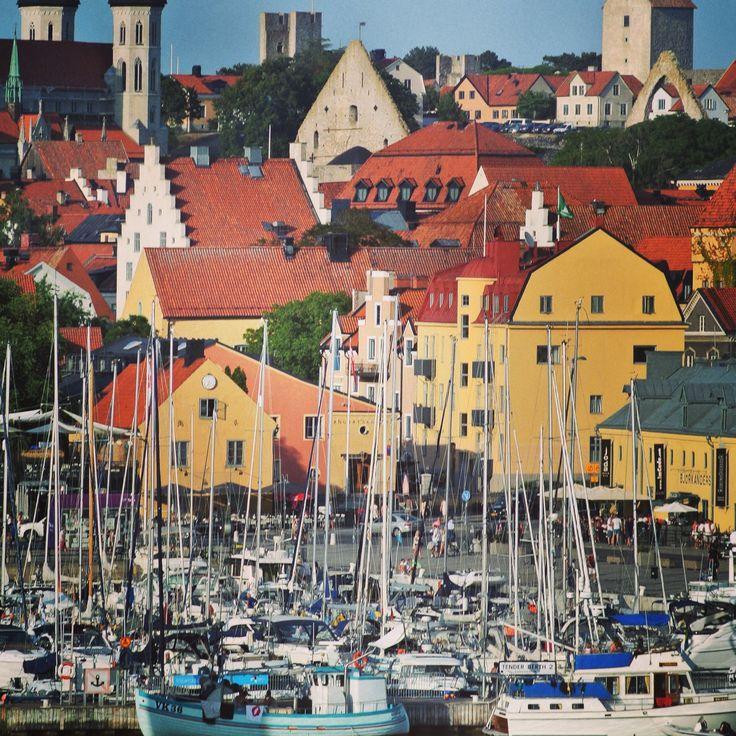 Visby, Gotland, Sweden.