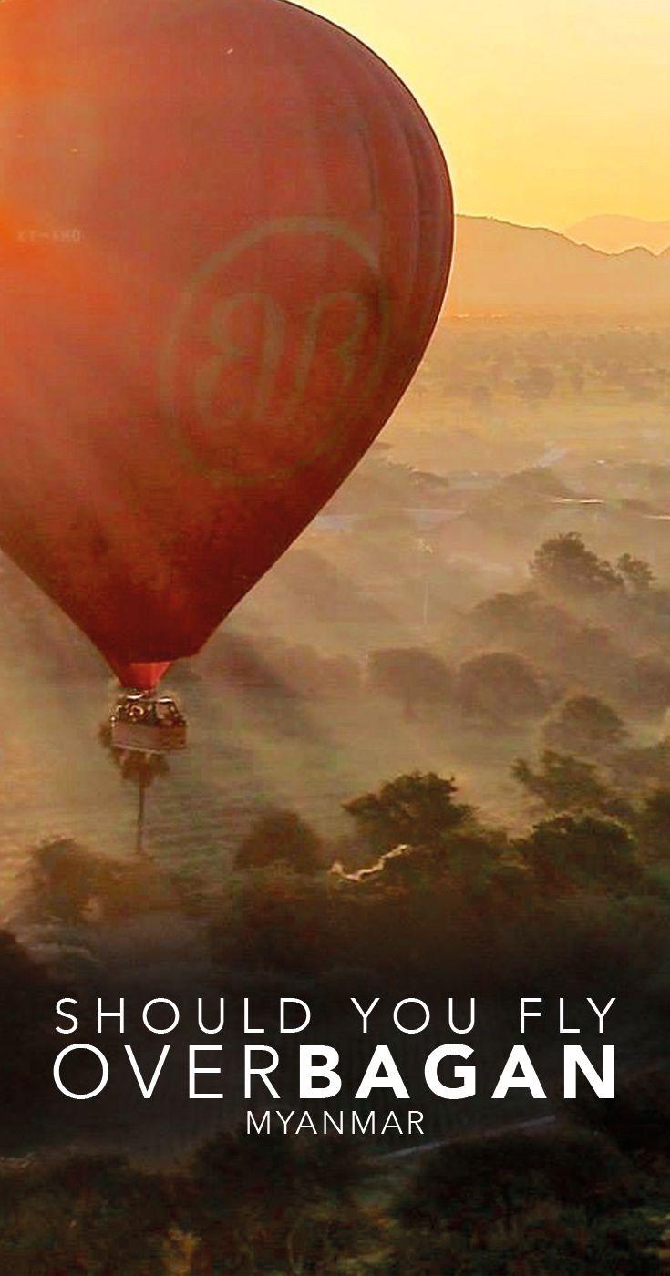Bagan Myanmar Balloon Sunrise
