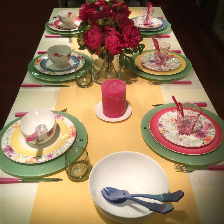 Gedekte tafel servies Villeroy & Boch