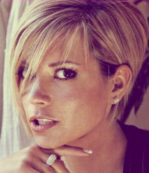 Victoria Beckham Hair #haircut #Womensfashion #hairstyle