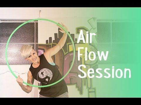 Air Flow Session - Hoop Dance Tutorial - YouTube