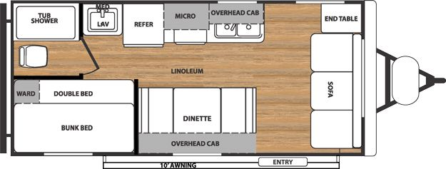 15 Best Trailer Floorplans Images On Pinterest Camp