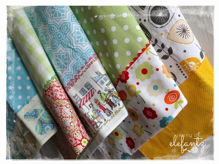Tutorial: sweet kitchen towels...