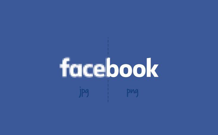 Odstraňte kompresi Facebooku